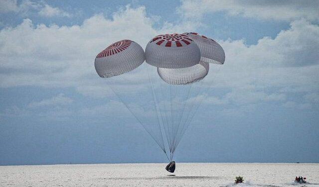 SpaceX Dragon and Inspiration4 Crew Safely Splashed Down off Florida Coast